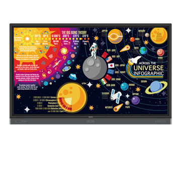 Picture of 4K UHD 86 Education Interactive Flat Panel Display