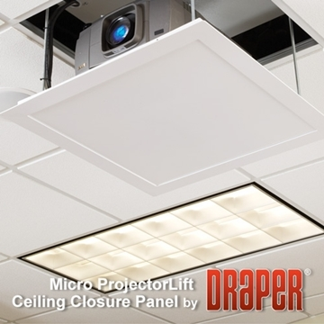 Picture of AeroLift 35 Small Ceiling Closure Panel - White