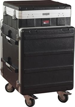 Picture of 10U Top, 12U Side Console Audio Rack