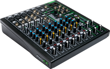 Picture of 10 Channel Professional Effects Mixer with USB