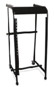 Picture of (9U) Top/(16U) Front 2-wheel Metal Rack