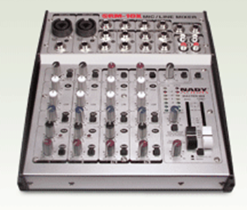 Picture of 10-channel Stereo Mic/Line Mixer