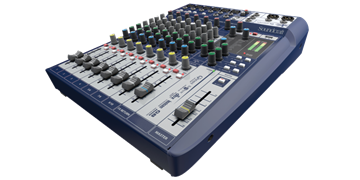 Picture of 10-input Small Format Analogue Mixer with Onboard Effects