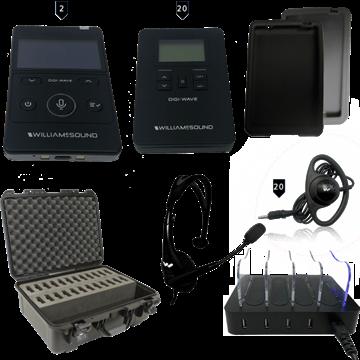 Picture of Digi-Wave 400 Interpretation System (2 presenters/20 listeners)