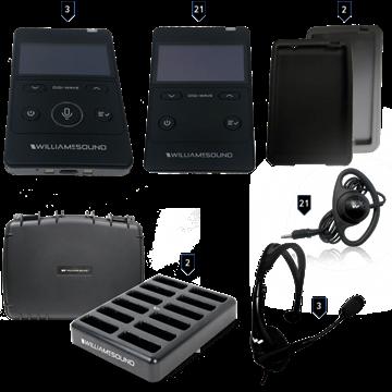 Picture of Digi-Wave 400 Interpretation System (3 presenters/21 listeners)