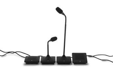 """Picture of 12"""" Elite Wired Gooseneck Microphone with Local/External Control, Black"""