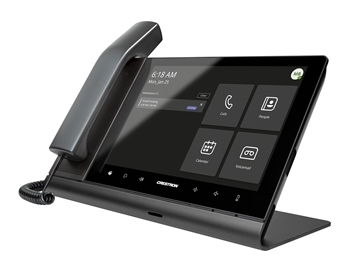 """Picture of Crestron Flex 10"""" Audio Desk Phone with Handset for Microsoft Teams Software"""