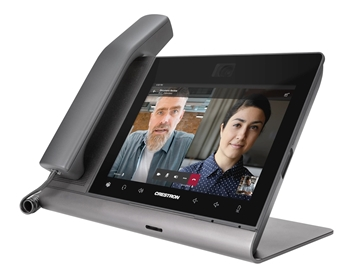 Picture of Crestron Flex 8 in. Audio Desk Phone for Microsoft Teams#174; Software